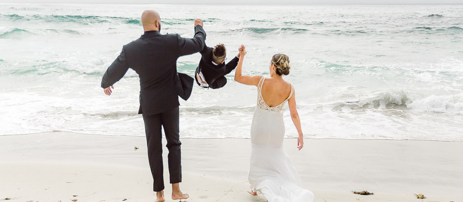 Beach Ceremony | Central California Coast Wedding