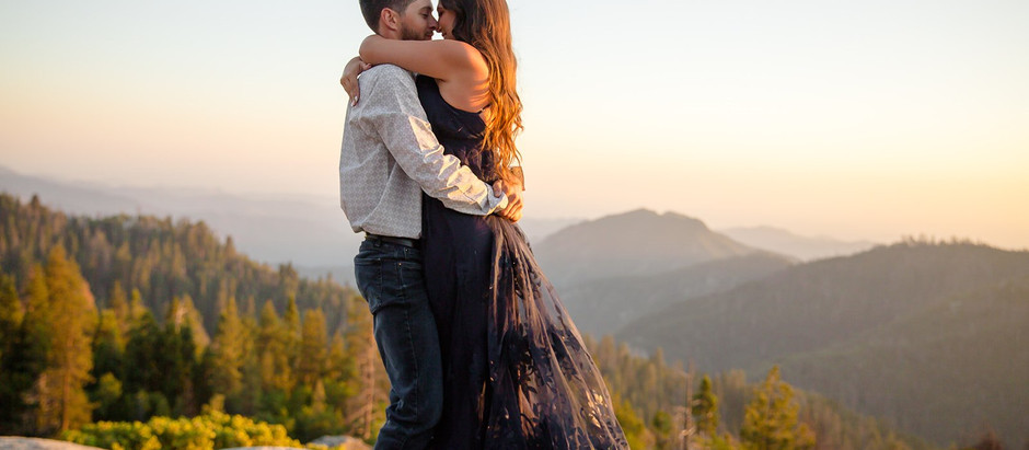 California Summer Engagement Session | Sequoia National Park