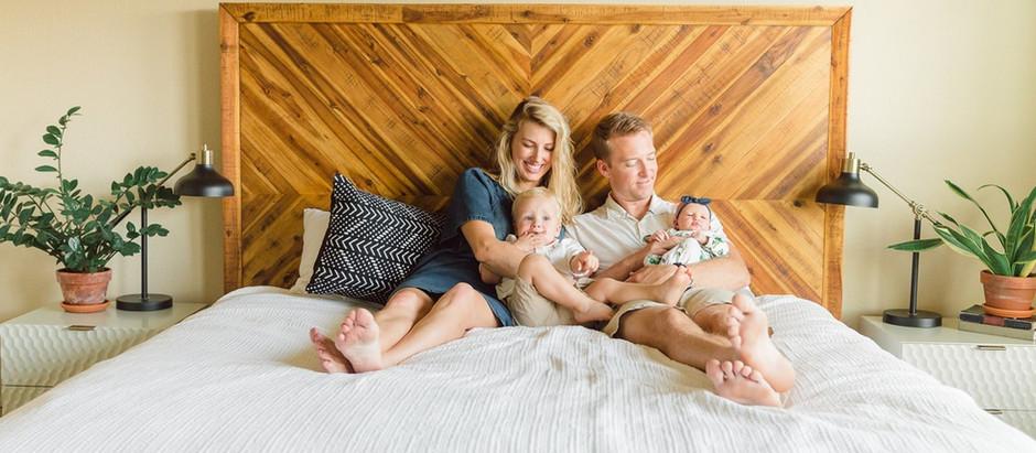 Modern Newborn Session | California Lifestyle Photographer