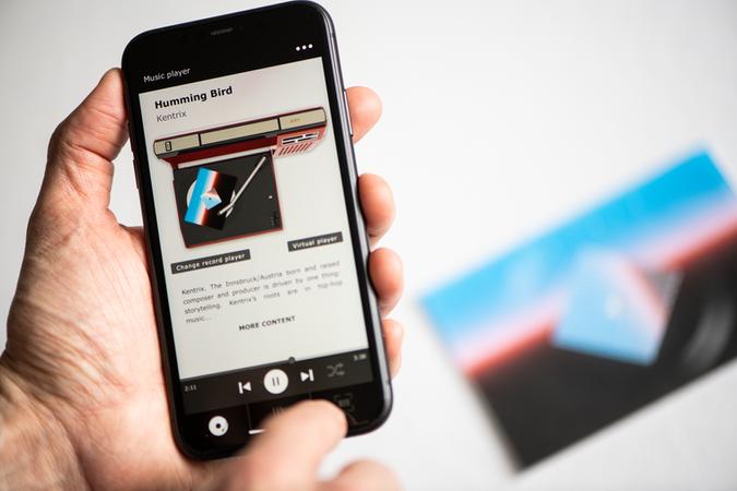 Vinylpostcards App - AR Player 3