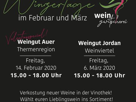 Winzertage Februar / März
