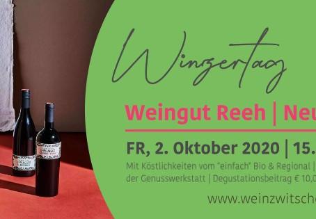 Winzertag mit Weingut Reeh am 2. Oktober 2020