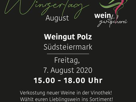 Winzertag mit Weingut Erich & Walter Polz am 7. August 2020