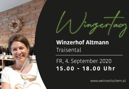 Winzertag mit Winzerhof Altmann am 4. September 2020