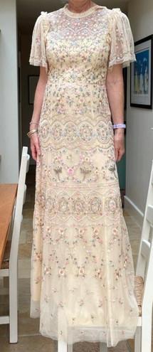 Bridesmaid dress before alterations