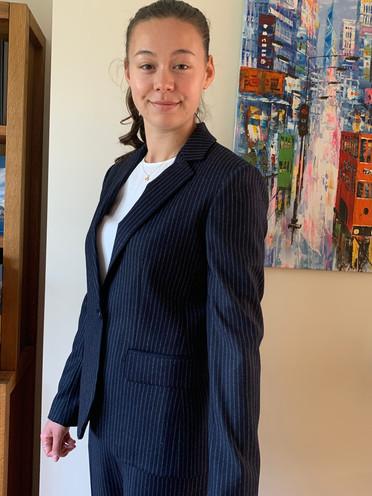 Suit jacket needed shortening