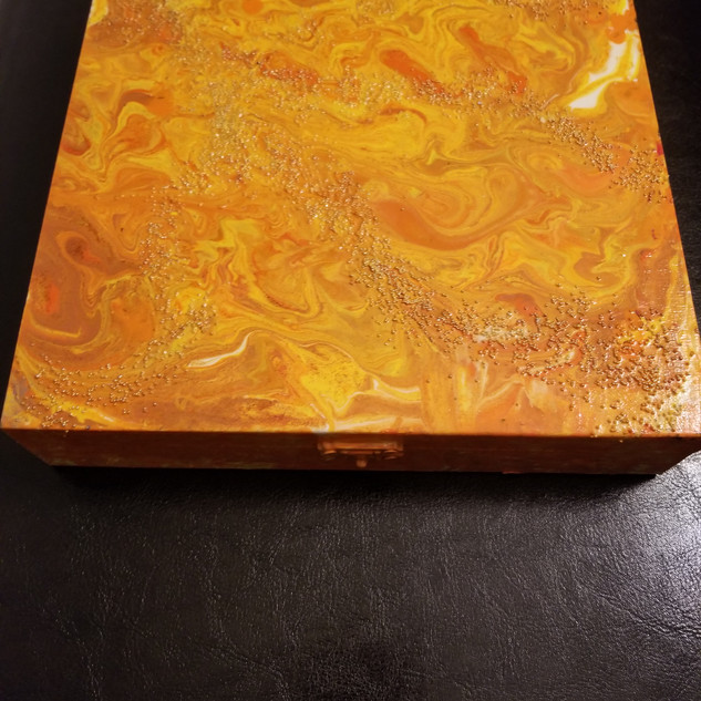 Calm Box Orange Burst #6