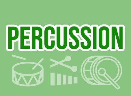FREE Percussion Masterclass!
