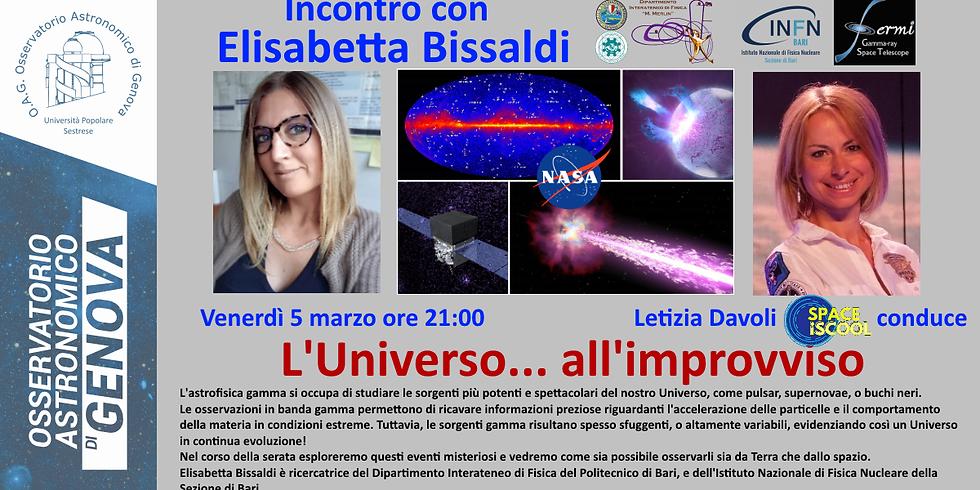 L'Universo... all'improvviso!