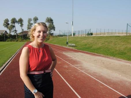 Stort intresse för att träna friidrott i Bara