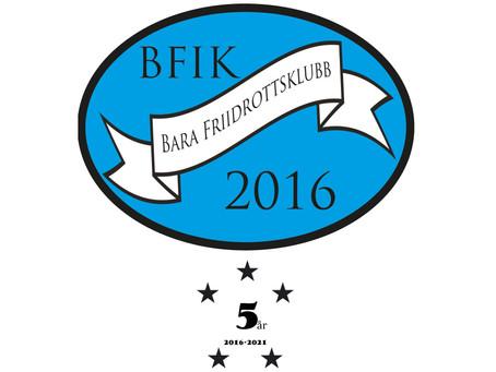 Grattis Bara Friidrottsklubb – 5 år!