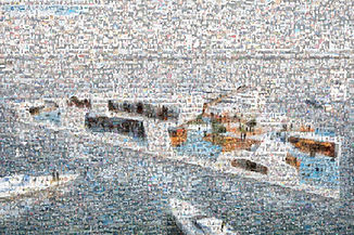 Breakwater Chicago, Photo Mosaic, Mosaic