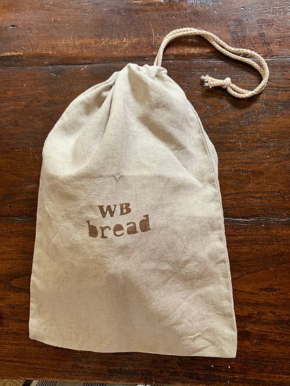 Linen Bread Bags  - order from the Oxford Craft Studio