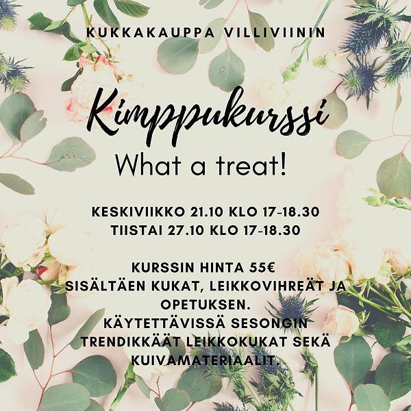 Kukkakurssi Lahti