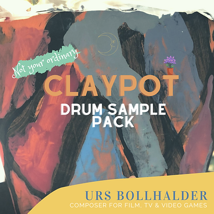Claypot Drum Sample Pack Freebie