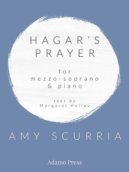 Hagar's Prayer for mezzo-soprano &  piano