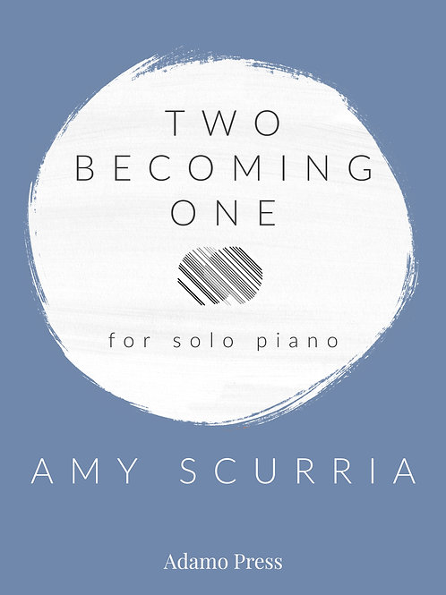 Two Becoming One for solo piano