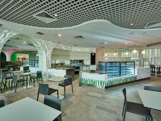 Perth Children's Hospital, Little Lion Café – by Bellfort