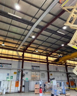 💡just a bit cable tray installed at BHP