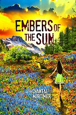 Embers of the Sun by Chantal Mortimer Fantasy book