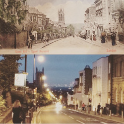 Then and now Gipsy Hill