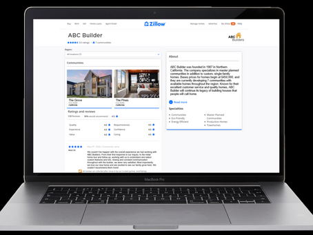 ZILLOW NEW CONSTRUCTION OFFERS BUILDER RATINGS AND REVIEWS