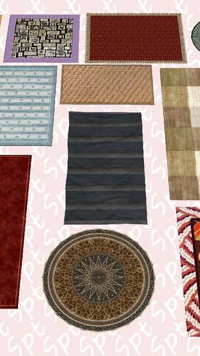 Componentes de tapetes
