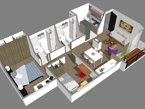 Arboleda de Chicalá  Apartamento tipo