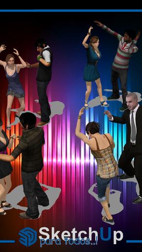 Componentes   8 Personas bailando