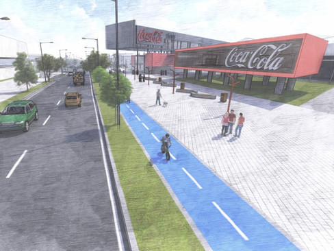 Alameda Boceto Cocacola Store