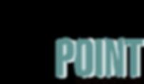 vantage point logo main  white teal no s