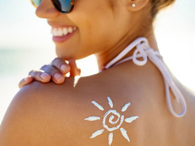 Here Comes the Sun. Say Yes to the SPF.