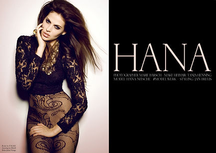Hana Nitsche Factice Mag Editorial