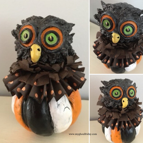 Vintage Style Owl