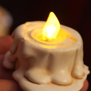 LED Candle Stubs