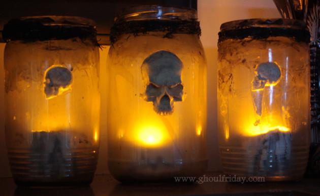 Aged Jar Lanterns