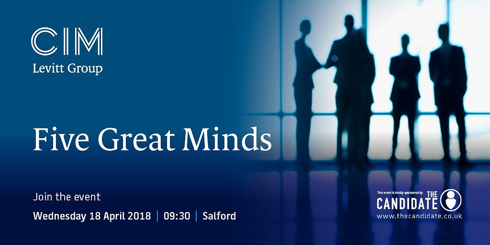 Paul Skinner at Five Great Minds event