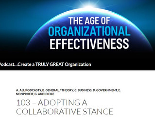 Collaborative Advantage on Organizational Effectiveness podcast