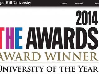 Paul Awarded Honorary Fellowship at University of the Year