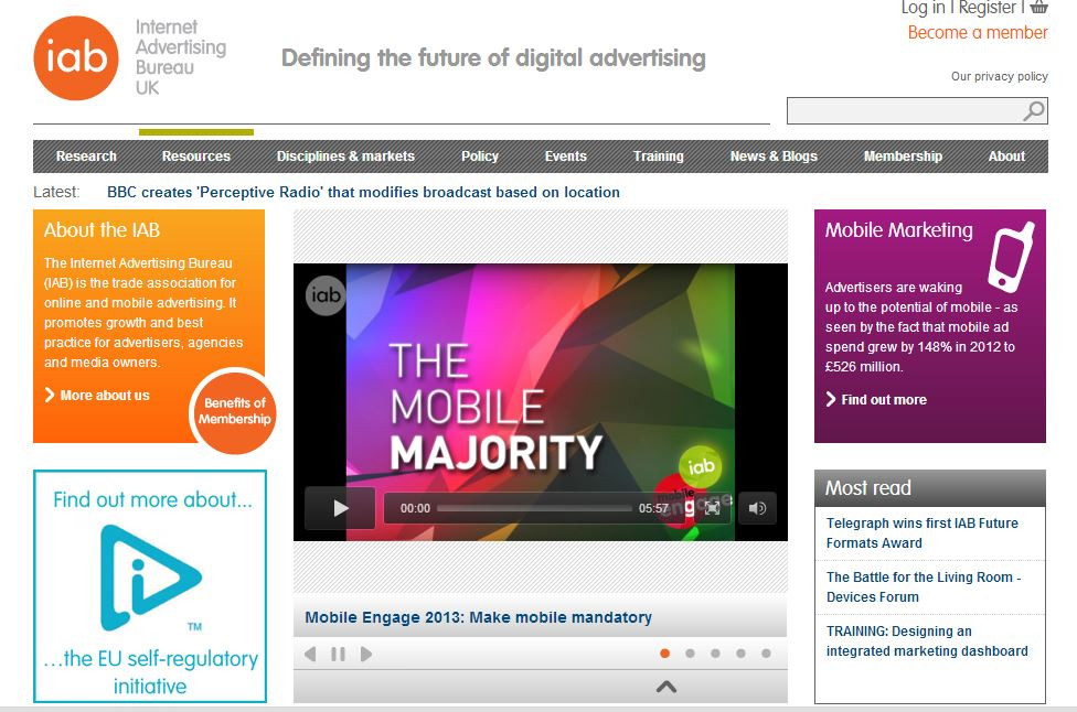 Internet Advertising Bureau hosts Paul Skinner