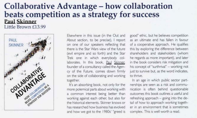 Paul Skinner's Collaborative Advantage reviewed by Intelligent Sourcing