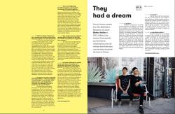 Parution presse : Blotter atelier (Zut magazine édition spéciale)