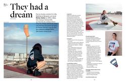 Parution de presse : Blotter atelier (Zut magazine)