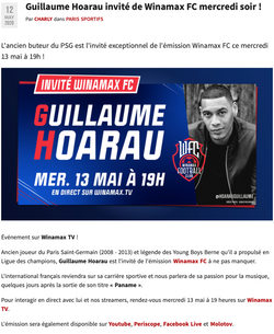Guillaume Hoarau x Winamax FC