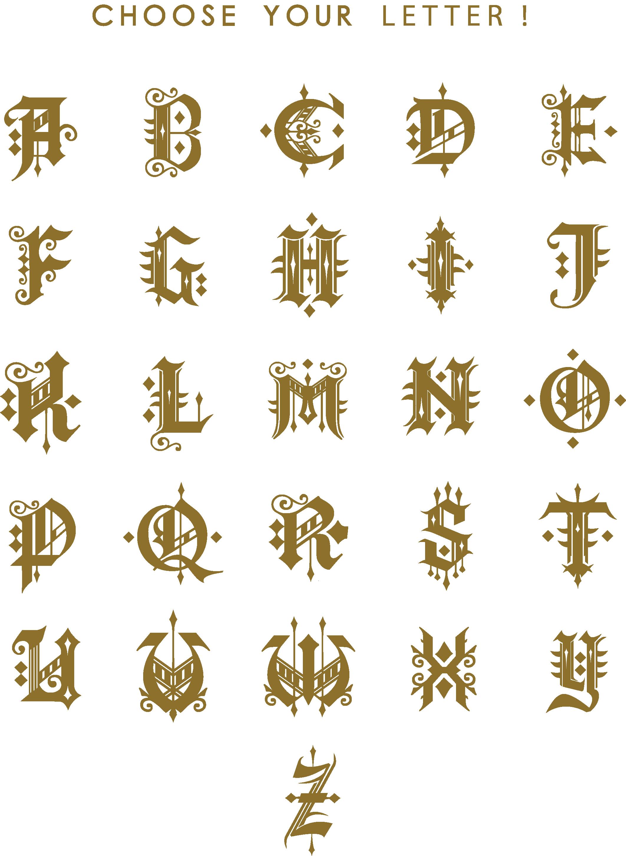Str. Warrior Alphabet