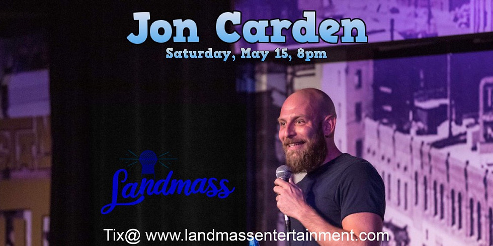 Jon Carden Live at the District on the Alley
