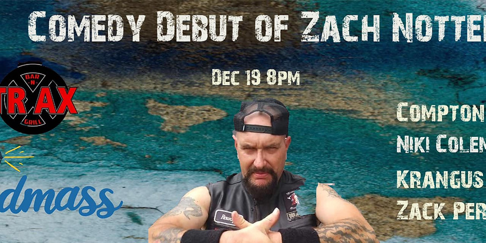 Comedy Debut of Zach Notter