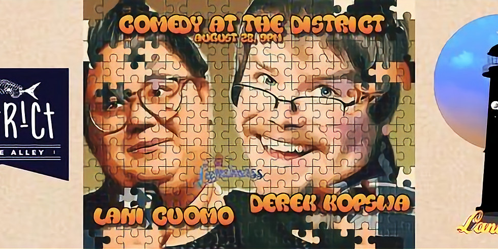 Comedy at the District