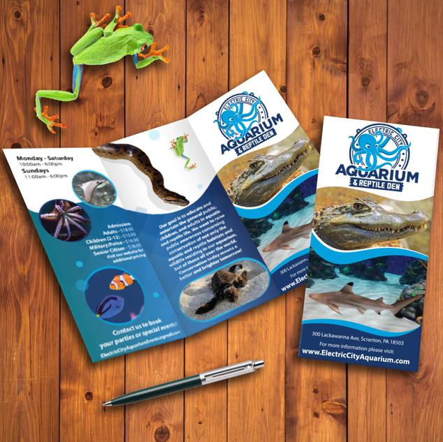 Electric City Aquarium brochure