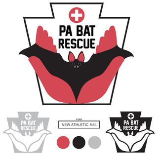 PA Bat Rescue logo design